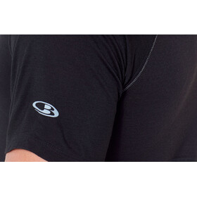 Icebreaker 150 Zone Crew Top T-shirt Heren, black/mineral